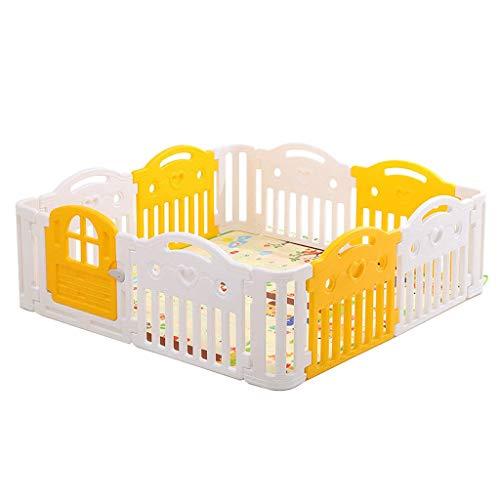 Relaxbx speelhek voor baby's, kinderen 'S kunststof omheining, kinder' S activiteitscentrum, voor binnen en buiten