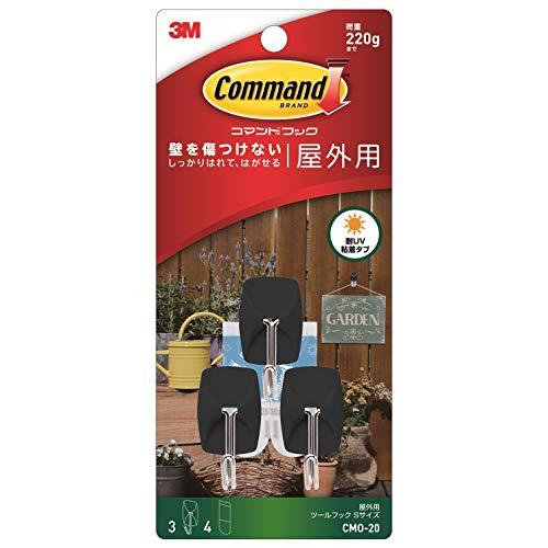 スリーエム(3M) コマンド フック 屋外用 ツールフック Sサイズ CMO-20