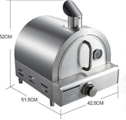WG Pretty gas stainless steel pizza oven,outdoor pizza oven, protable pizza oven