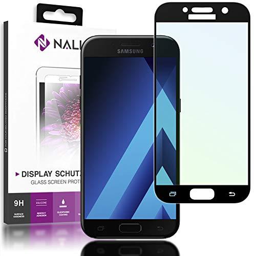 NALIA Cristal Templado Compatible con Samsung Galaxy A3 2017, Vidrio Blindado Película...