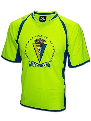 KELME - Cadiz Camiseta Ascenso 1ª 2005 Hombre Color: Yellow Talla: XL