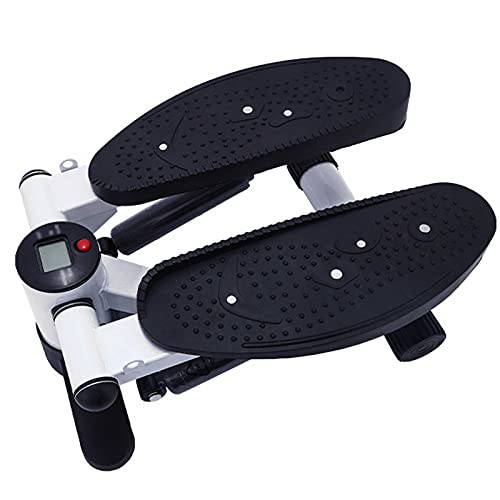 yunyun Mini Bike,Ajustable Pedales Estaticos Bicicleta De Ejercicios De Ciclo De Pedal Portátil con Monitor Digital Y Alfombra Antideslizante para Hacer Ejercicio En Casa para Mujer Y Hombre