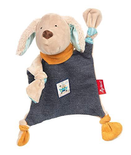 Sigikid Mädchen und Jungen, Schnuffeltuch Hügge Hug, Babyspielzeug, empfohlen ab 0 Monaten, blau/beige, 39219