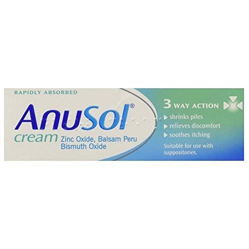 Anusol 3X Cream Haemorrhoids Piles Treatment - 23G