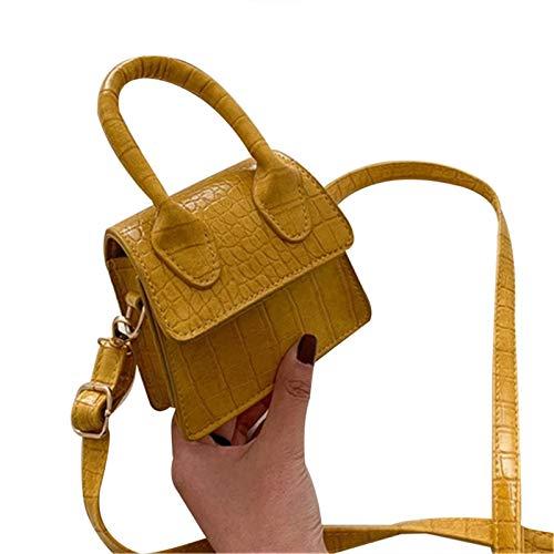 Mini bolsa de viaje para mujer moda Flip Messenger Crossbody Pack Mujer Bolso de hombro Pequeño Señora Hasp Bolso