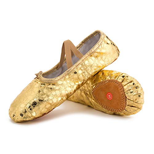 [L-RUNJP] バレエシューズ バレエ靴 キャンバス製 ダンスシューズ 布製 シューズ バレエ ダンス用品 チアリーディング 伸びやすい