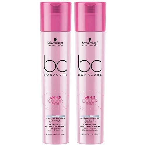 Schwarzkopf BC Bonacure Shampooing double pH 4,5 Color Freeze Silver
