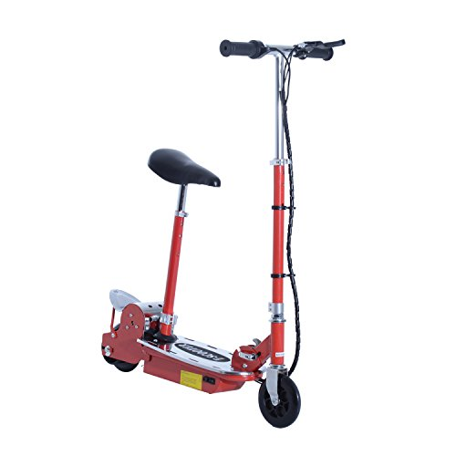 HOMCOM 120W Teens Foldable E-Scooter Kids Electric...