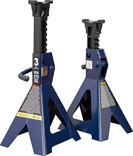 TCE AT43006U Torin Steel Jack Stands Fits SUVs and Extended Height Trucks 3 Ton 6 000 lb Capacity product image