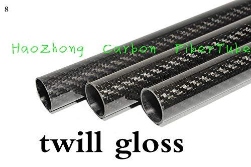 Great Deal! Part & Accessories 1-2pcs 44MM OD x 42MM ID x 1000MM 3K Carbon Fiber Fabric Tube,Tail Bo...