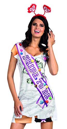 Boland 84248 – Robe réaliste Bachelorette Costume pour Adulte
