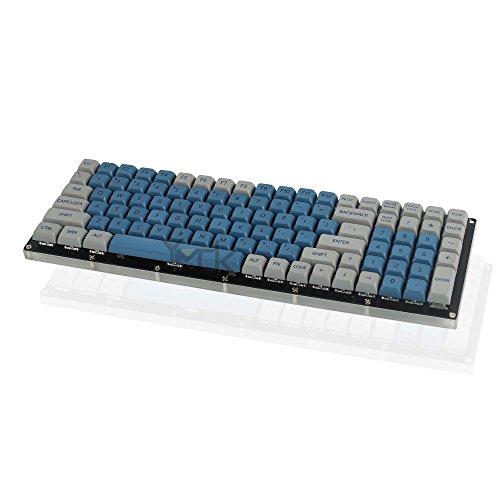 Filco Noppoo Planck Serie Steelser Color Azul y Gris Ergodox Leopold YMDK 147 XDA Cosair Juego de Llaves para Teclado mec/ánico MX