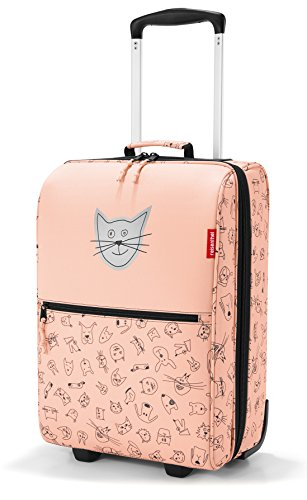 trolley XS kids 29 x 43 x 18 cm 19 Liter cats and dogs rose