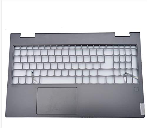 MiaoMiao New Laptop Fit FOR Lenovo YOGA C740 C740-15 Palmrest Upper Case Keyboard Bezel Cover Fingerprint Touchpad/Grey service