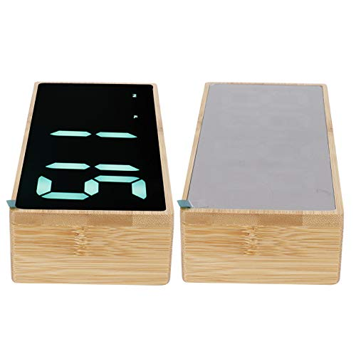 -10-50 ° C Función de Temperatura Reloj Fuente de alimentación USB práctico Funcionamiento simplificado Reloj LED para Familiares y Amigos