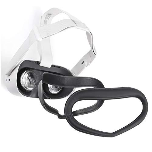 dailylime Cubierta para Oculus Quest 2, para Oculus Quest 2 Soporte De Interfaz Facial, Almohadilla Facial De Espuma De Cuero PU para Accesorios Oculus Quest 2, Gafas Impermeables Big Sale