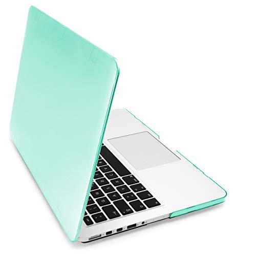 MyGadget Funda Dura para Apple Macbook Pro Retina 13' Modelo A1502 / A1425 (2012 a Mitad 2016) - Carcasa Slim - Hard Case Ultra Delgada - Turquesa