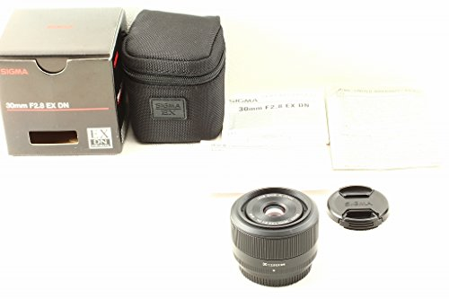 Sigma 30 mm F2.8 EX DN-Objektiv (46 mm Filtergewinde) für Micro Four Thirds Objektivbajonett