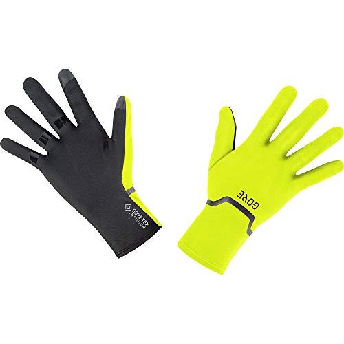 GORE Wear M Unisex Stretch Handschuhe GORE-TEX INFINIUM, 7, Neon-Gelb/Schwarz