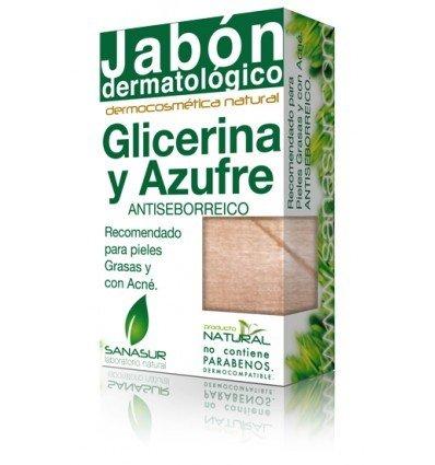 Sanasur Jabon Glicerina Azufre 100Gr. 100 G