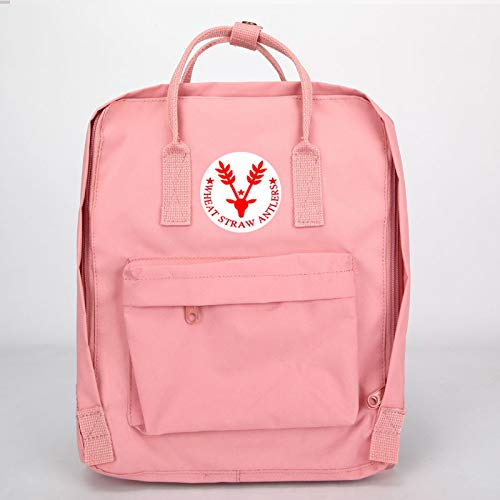 Hanggg Mochila moda coreana mochila al aire libre bolsa de estudiante universitario mochila de zorro ártico