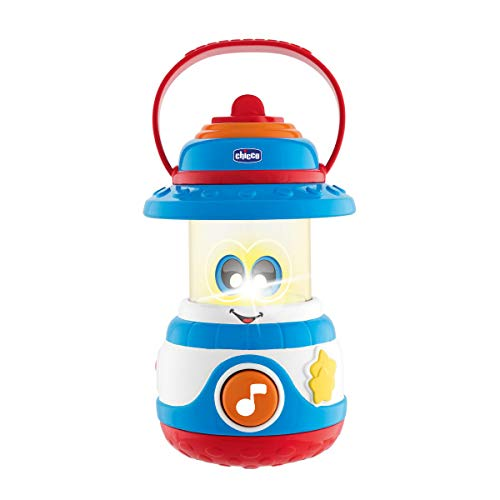 Chicco- Camping Lovers Lámpara de Juguete para bebés, Multicolor (00009706000000)