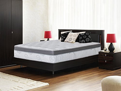 Olee Sleep 13 inch Galaxy Hybrid Gel Infused Memory Foam and Pocket Spring Mattress (Queen)
