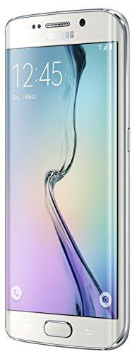 Samsung Galaxy S6 Edge Smartphone (5,1 Zoll (12,9 cm) Touch-Display, 128 GB Speicher, Android 5.0) weiß