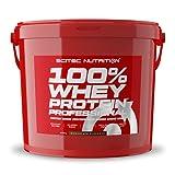 Scitec Nutrition 100% Whey Protein Professional con aminoácidos clave y enzimas digestivas adicionales, sin gluten, 5 kg, Chocolate