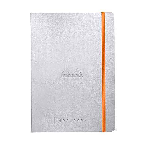 Rhodia Caderno Goalbook, Silver
