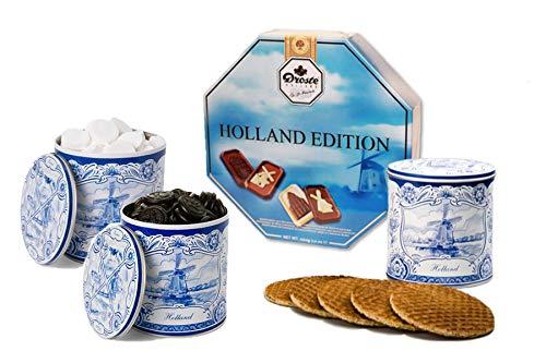 Guilty Candy Store – Hollands Snoep Pakket – Stroopwafels, Drop, Pepermunt & Chocolaatjes