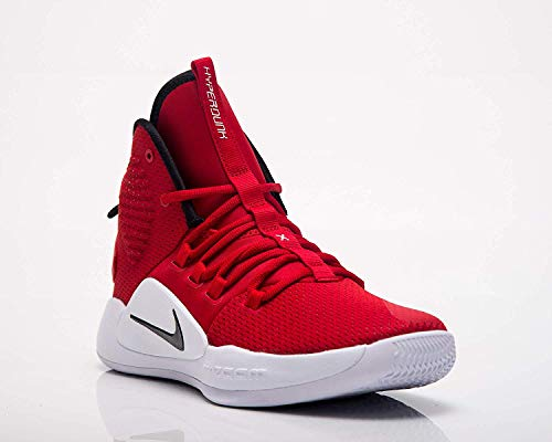 Nike Men's Hyperdunk X Team Basketball Shoe University Red/Black/White Size 11.5 M US