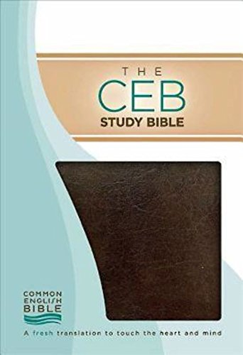 Compare Textbook Prices for The CEB Study Bible, Brown Bonded Leather Reprint Edition ISBN 9781609260279 by Common English Bible,Green, Joel B.