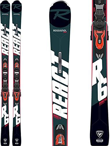 Rossignol React 6 Compact Xpress 11 Gw Esquís con fijación, Adultos Unisex, Negro, 170 cm