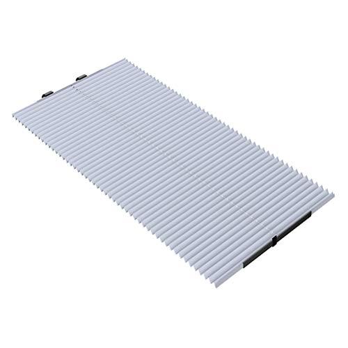 LIOOBO 1 stücke Elastische Einstellbare Sommer Auto Verwenden Sonnenschutz Visier Block Sonnenschirm Tragbare Design Sun Block Pad 45 cm BreiteSommer Zubehör