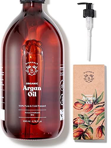 ACEITE DE ARGÁN ORGÁNICO | 100% Puro, Natural y Prensado en Frío...