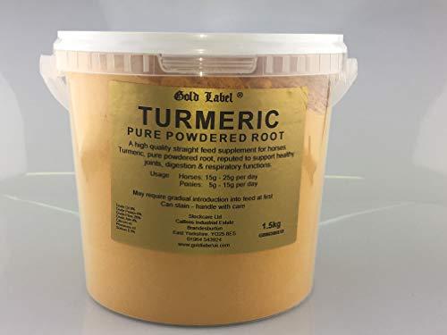 Gold Label Unisex's Turmeric, Clear, Regular