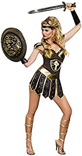 Women's Queen Of Swords Warrior Costume