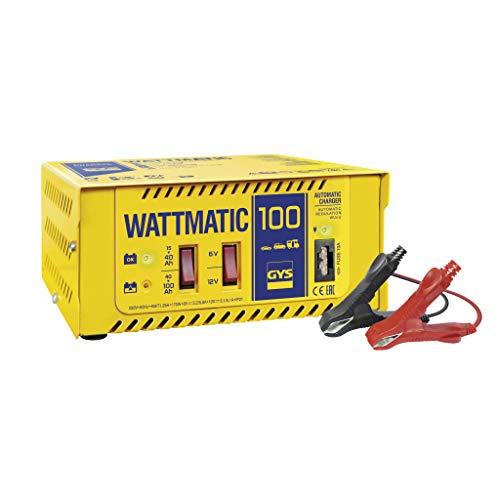 GYS Automatisches Batterieladegerät 6/12 V, WATTMATIC 100