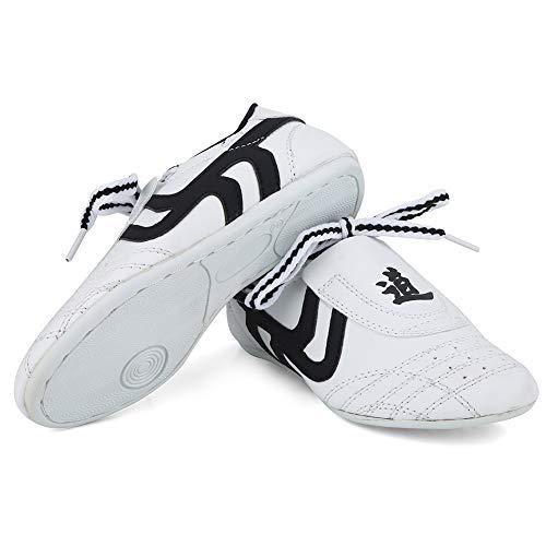 Fsskgx Taekwondo Schuhe, Kinder Martial Arts Sneaker Leichte Sportschuhe für das Boxen Karate Kung Fu Tai Chi Training