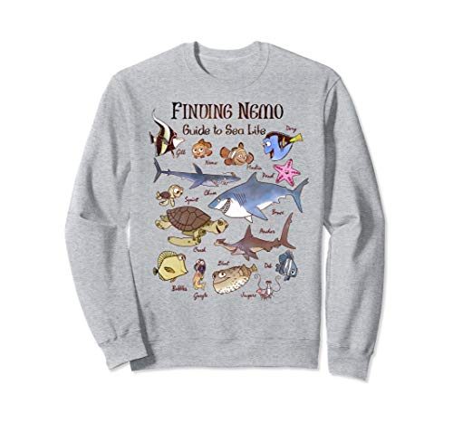 Disney Pixar Finding Nemo Guide To Sea Life Sweatshirt