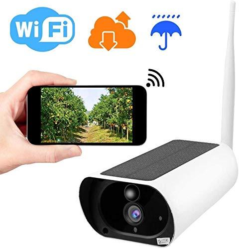 MEETGG 2,4 GHz WiFi Soalr Kamera 1080P HD 4X optischer Zoom Wireless IP Kamera IP66 wasserdicht Outdoor Überwachungskamera