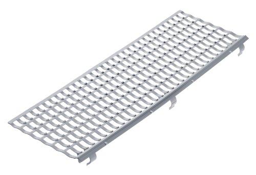 INEFA Laubfangstreifen, Dachrinnenschutz, NW 100/125/150, Grau 100 cm | 30 Stück
