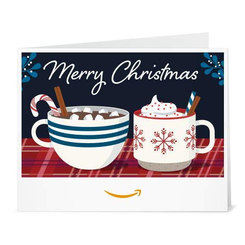 Amazon Gift Card - Print - Christmas Mugs
