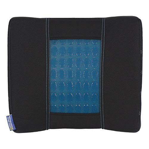 Ergo-Drive Ergonomic Lumbar Support Seat Cushion with Memory Foam and Cooling Gel