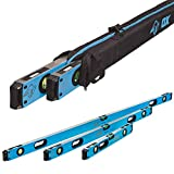 OX TOOLS Pro Series Level Bundle - 24-Inch, 48-Inch, 72-Inch Levels & a Free Pro Level Bag