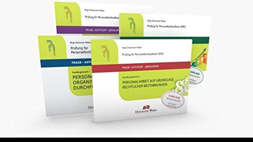 Personalfachkaufleute - Frage-Antwort-Karten Paket - Handlungsbereich 1 bis 4: Prüfung für Geprüfte Personalfachkaffrau (IHK) / Geprüfter Personalfachkaufmann (IHK)