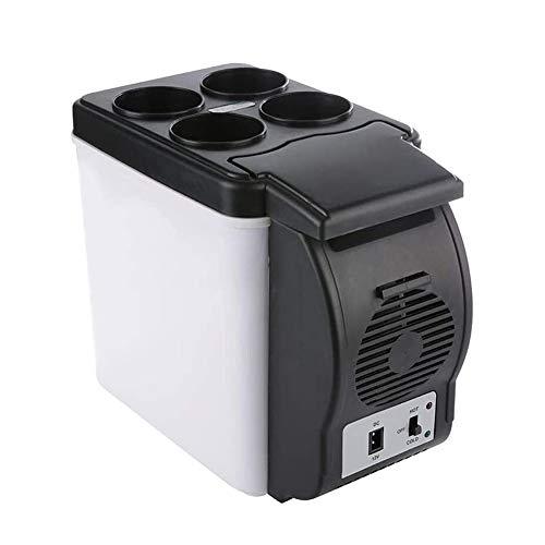 Sits Enfriador Compacto para Coche, Enfriador de Viaje de 6L 12V / Mini refrigerador portátil para Coche, camión, Dormitorio, Mini neveras