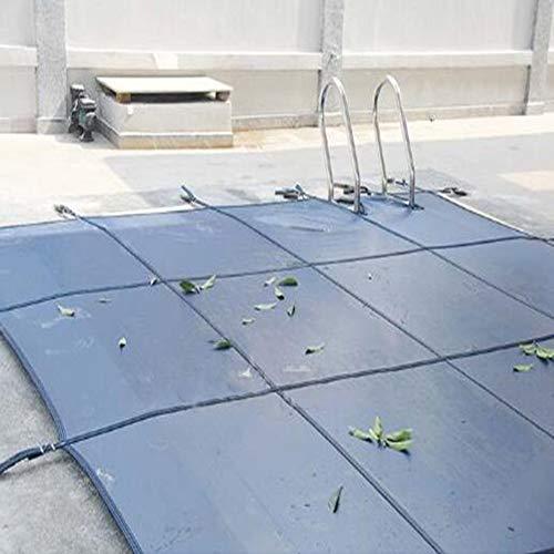 LLA Fundas para Piscinas Rectángulo Azul Cubierta de Piscina Segura, para Piscina Enterrada, Seguridad y Protección de Niños y Mascotas, Cubierta de Piscina Resistente a la Abrasión (Size : 5×6m)
