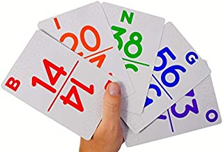 Regal Games Bingo Calling Card Deck - New Large Size (5.6
